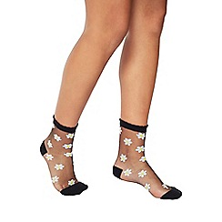 Miss Selfridge - Daisy sheer socks