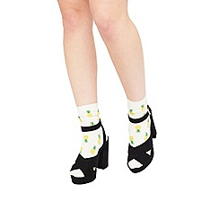 Miss Selfridge - Pineapple cotton sock