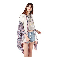 Miss Selfridge - Tile print lightweight cape