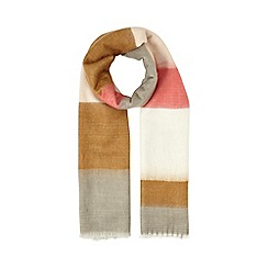 Miss Selfridge - Pink stripe scarf