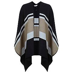 Miss Selfridge - Camel block cape