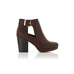 Miss Selfridge - Aria cutout ankle boots