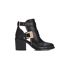 Miss Selfridge - Avenge zip topline ankle boots