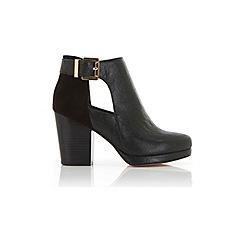 Miss Selfridge - Aria cutout ankle boots