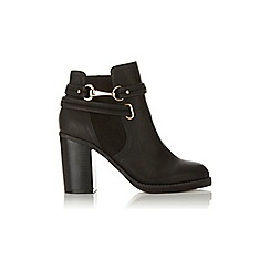 Miss Selfridge - Anais snaffle trim ankle boots