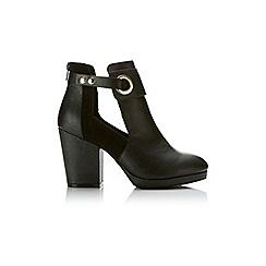 Miss Selfridge - Annelie cutout ankle boot