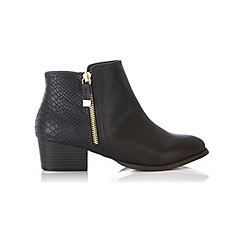 Miss Selfridge - Alto croc back boots