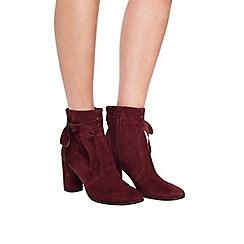 Miss Selfridge - Alixe suede wrap boot
