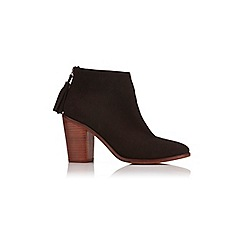 Miss Selfridge - Ashe zip back ankle boot
