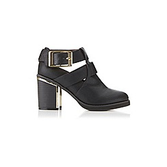 Miss Selfridge - Adele metal flash heel boot