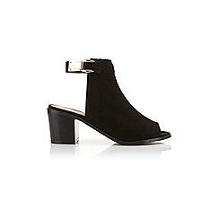 Miss Selfridge - Anya plait peep toe shoe boot