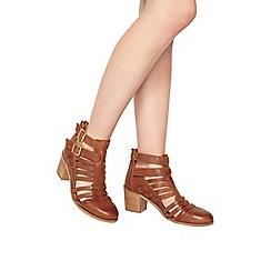 Miss Selfridge - August strap cut out boot