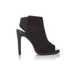 Miss Selfridge - Bibi peep toe high heeled boot