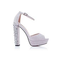 Miss Selfridge - Crystal embellished sandal