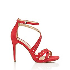 Miss Selfridge - Crista laser cut out sandal