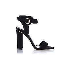 Miss Selfridge - Chacha black faux suede sandal