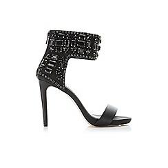 Miss Selfridge - Cara black jewel sandal