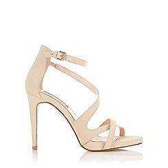 Miss Selfridge - Clover nude strappy sandal