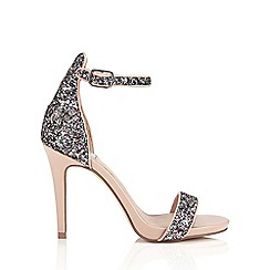 Miss Selfridge - Camille glitter sandal