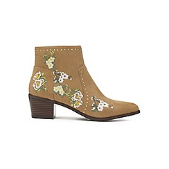 Miss Selfridge - Drift embroidered boots
