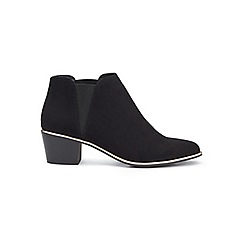 Miss Selfridge - Darah point black rand boots