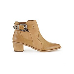 Miss Selfridge - Dee western buckle boots