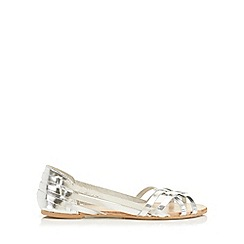 Miss Selfridge - Evie leather huarache sandal