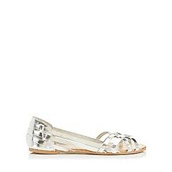 Miss Selfridge - Evie leather huarache sandal