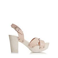 Miss Selfridge - Fionne wood heel sandal