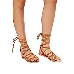 Miss Selfridge - Faryn high leg wrap sandal