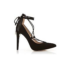 Miss Selfridge - Gemini ghillie tie court shoe