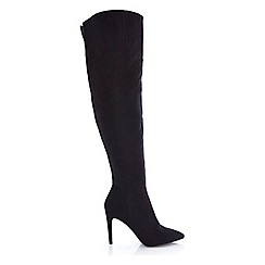 Miss Selfridge - Kensington over the knee boots