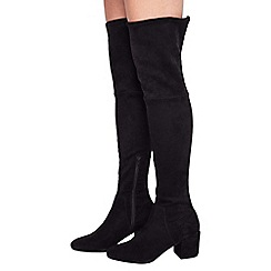 Miss Selfridge - Kitty 60s over the knee boot
