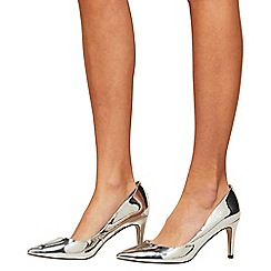 Miss Selfridge - Lacie mid heel courts