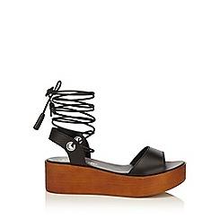Miss Selfridge - Marlena flatform wedge sandal