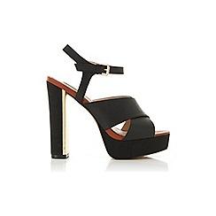 Miss Selfridge - Suki crossover platform heel