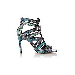 Miss Selfridge - Shelby ghillie tie sandal