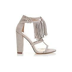 Miss Selfridge - Sierra suede fringe sandal