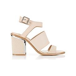 Miss Selfridge - Serena metal flash sandal