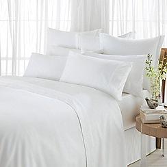 Sheridan - White 600 thread count egyptian blend sateen duvet cover