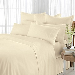 Sheridan - Cream '600 Thread Count' sheets