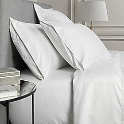 Sheridan - White 1000 thread count cotton sateen flat sheet