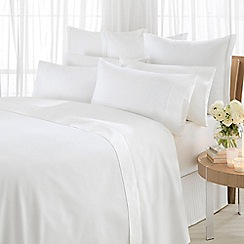 Sheridan - White '1000 thread count cotton sateen' valance sheet