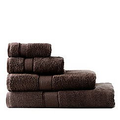 Sheridan - Dark brown 'Egyptian Luxury' towels