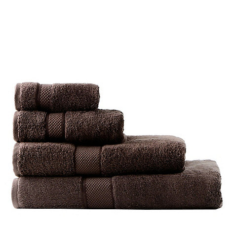 Sheridan - Dark brown +Egyptian Luxury+ towels