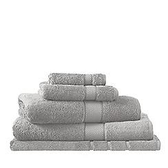 Sheridan - Pale grey 'Luxury Egyptian cotton towel' towels