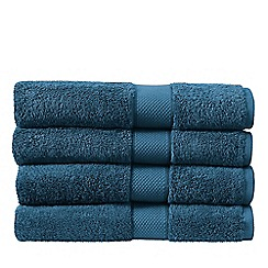 Sheridan - Dark turquoise 'Luxury Egyptian' cotton towels