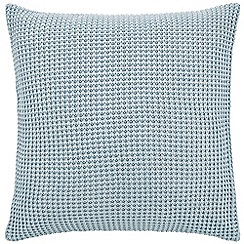 Sheridan - Mid blue 'Haden' square pillow case
