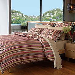 Sheridan - Red 'Jaipur' bed linen