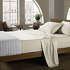Sheridan - Cream 400 thread count sheridan sateen fitted sheet